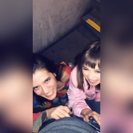 Riley Reid and I fuck a stranger in a public parking garage - clip cover-front