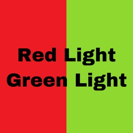 Red Light green light - clip cover-front