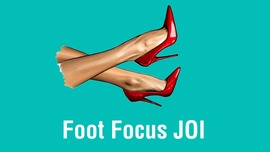 Foot focus JOI - clip cover-front