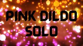 Solo masturbation with pink dildo - clip cover-front