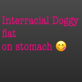 Interracial doggystyle pt 2 - clip cover-front