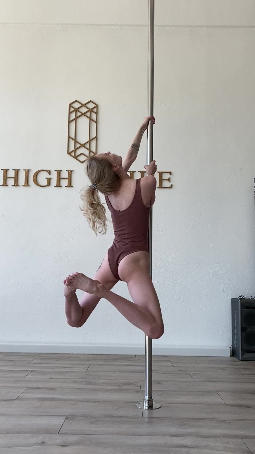 No matter how slow you are learning pole. You are still climbing higher than everyone on the couch 💋 - video cover